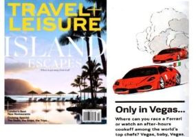 Travel and Leisure – Only in Vegas